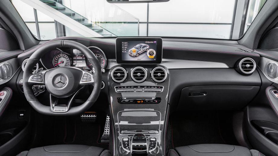 Mercedes-AMG GLC 43 4MATIC Coupé Interieur