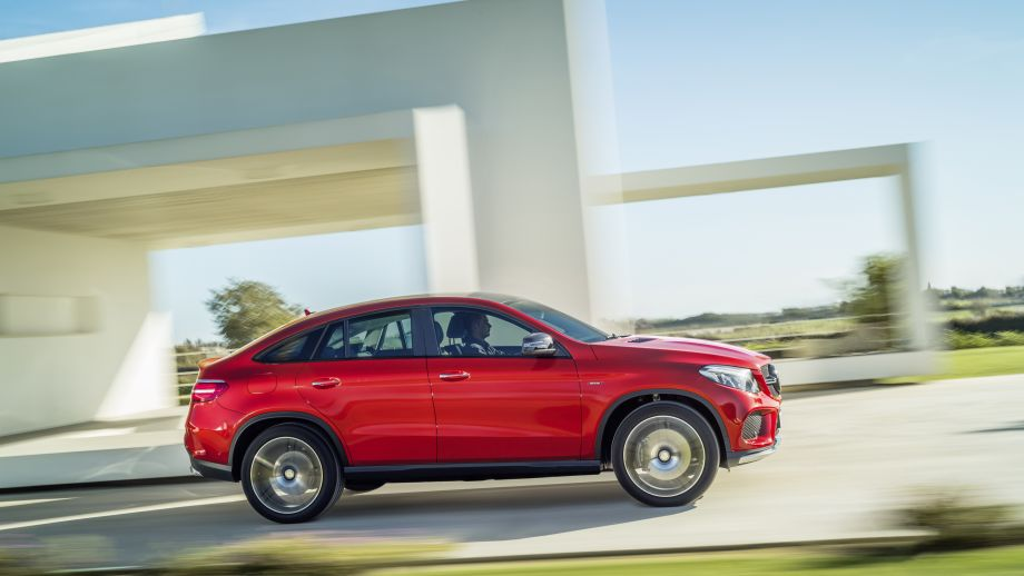 Mercedes-AMG GLE 43 Coupé rot