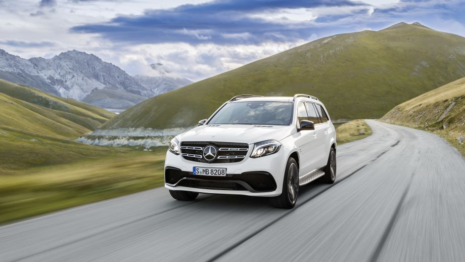 Mercedes-AMG GLS 63 4MATIC SUV Front