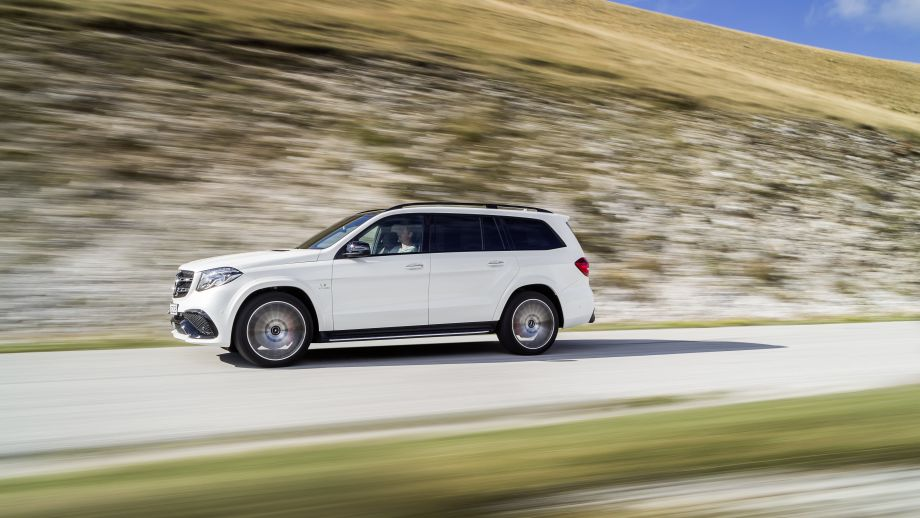 Mercedes-AMG GLS 63 4MATIC SUV weiss
