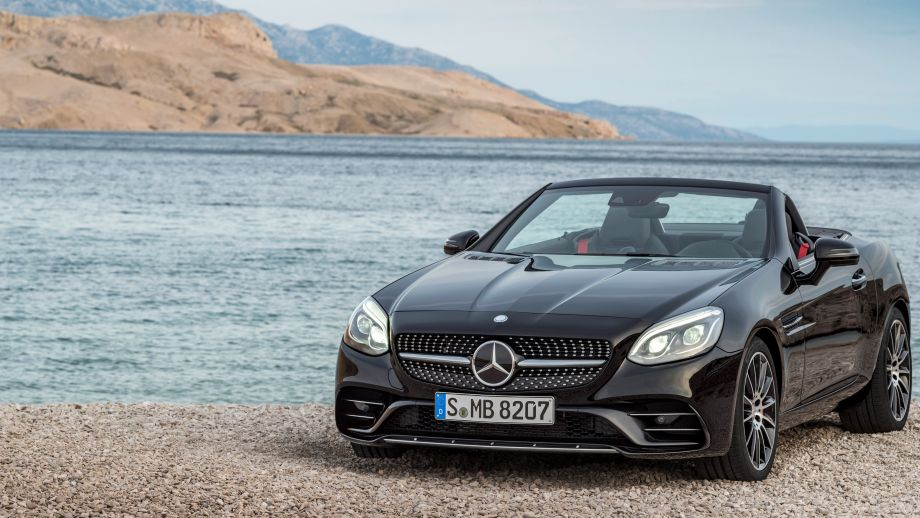 Mercedes-AMG SLC 43 Roadster schwarz