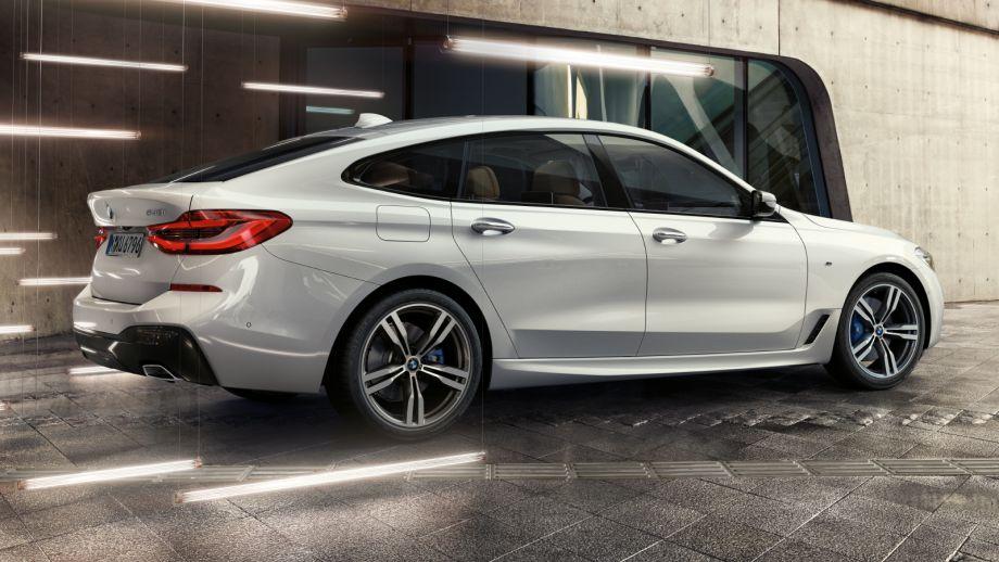BMW 6er Gran Turismo weissBMW 6er Gran Turismo