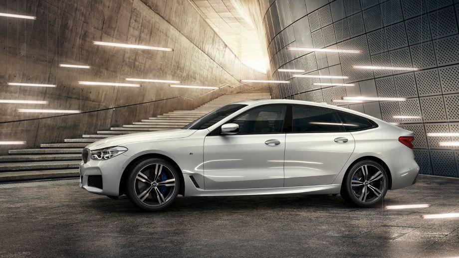 BMW 6er Gran Turismo weiss