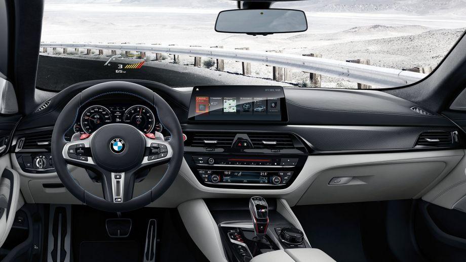 BMW M5 Limousine Interieur