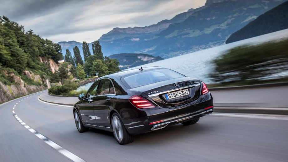Mercedes-Benz S-Klasse Limousine Heck
