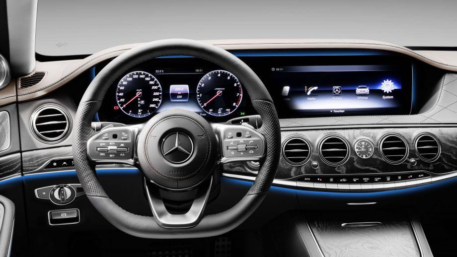 Mercedes-Benz S-Klasse Limousine Langversion Interieur