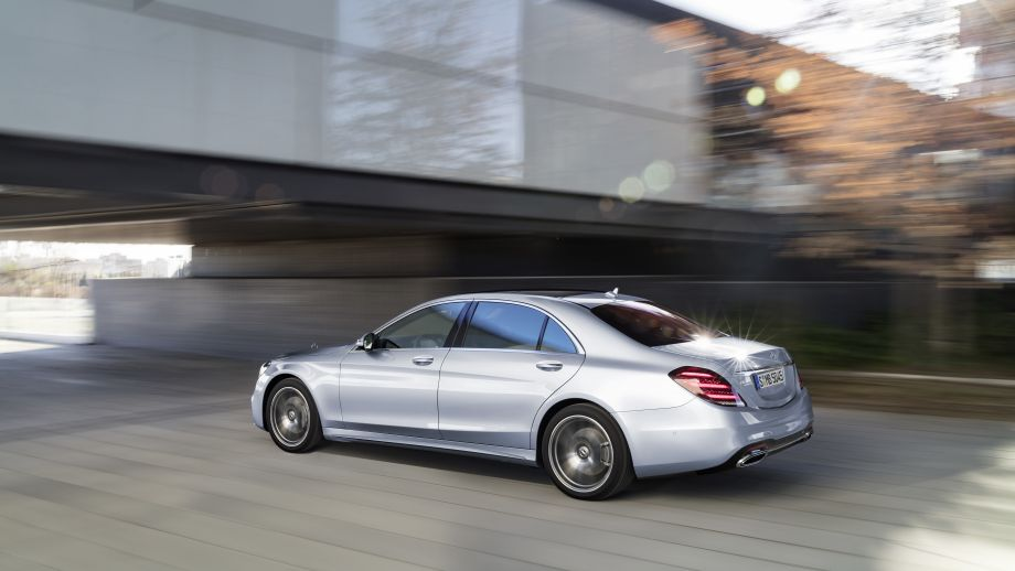 Mercedes-Benz S-Klasse Limousine Langversion Heck