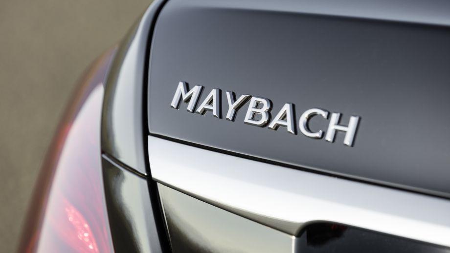 Mercedes-Maybach S-Klasse  Schriftzug