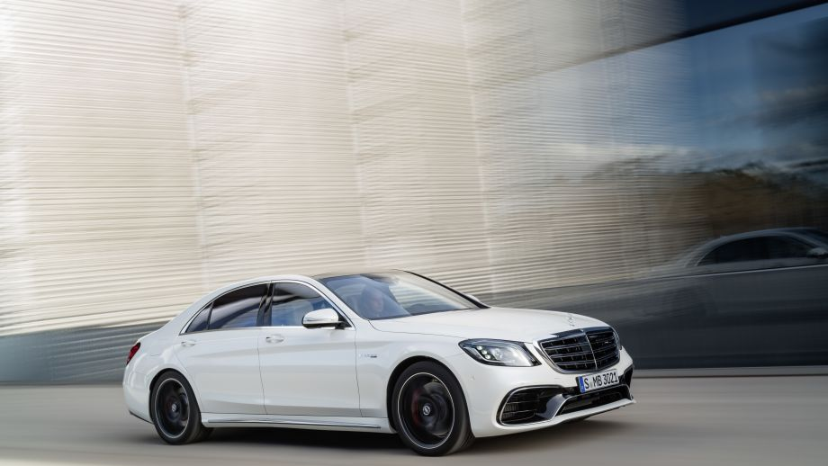 Mercedes-AMG S63 4MATIC Limousine weiss