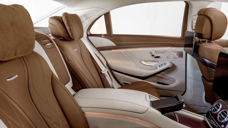 Mercedes-AMG S65 Limousine Rückbank