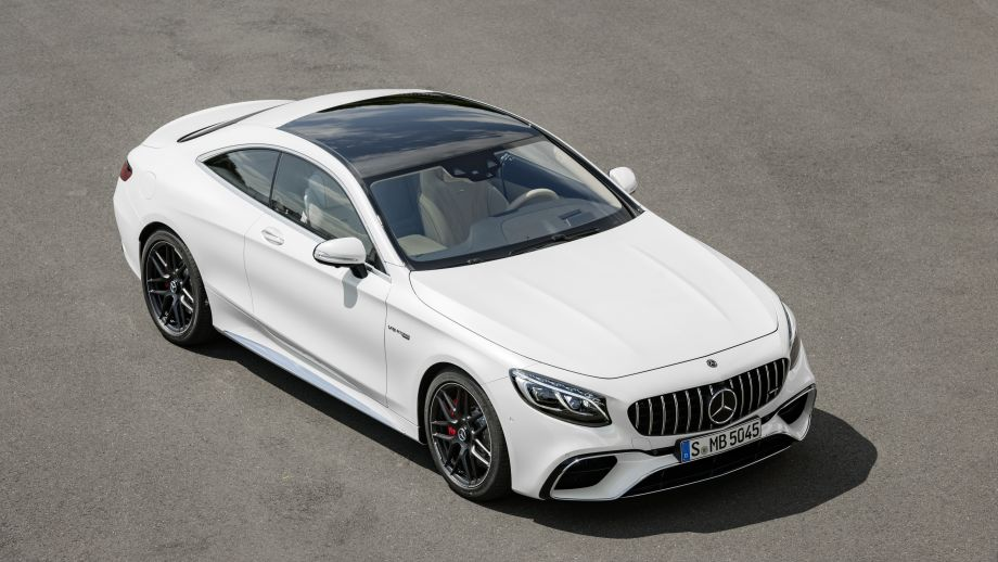 Mercedes-AMG S63 4MATIC Coupé weiss