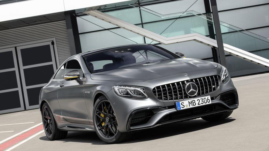 Mercedes-AMG S63 4MATIC Coupé grau