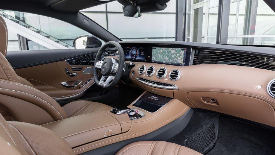Mercedes-AMG S65 Coupé Interieur