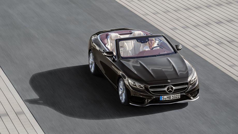 front Mercedes-Benz S-Klasse Cabriolet