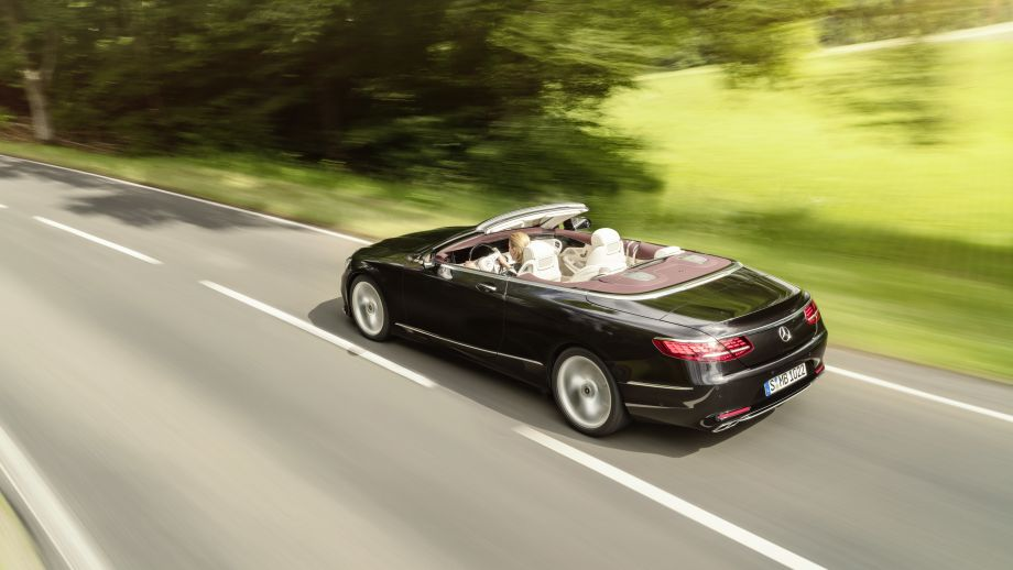 Mercedes-Benz S-Klasse Cabriolet offen