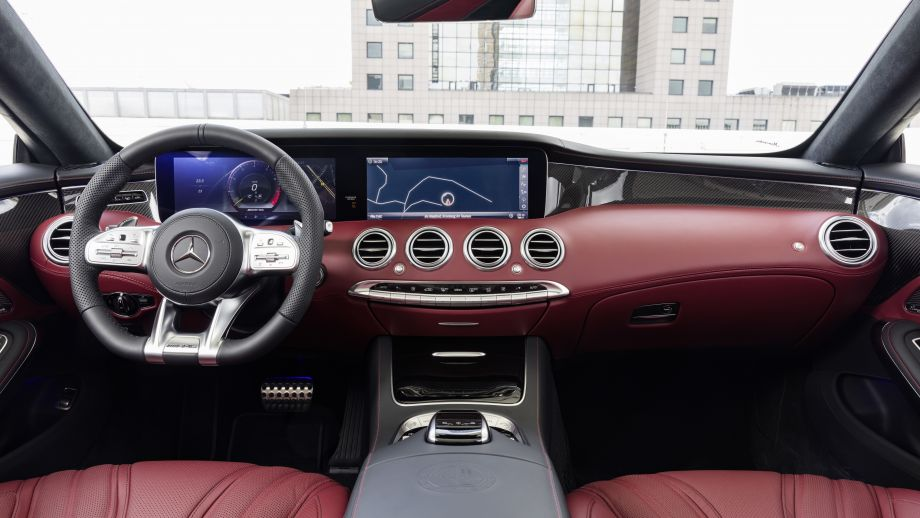 Mercedes-AMG S63 4MATIC Cabriolet Interieur