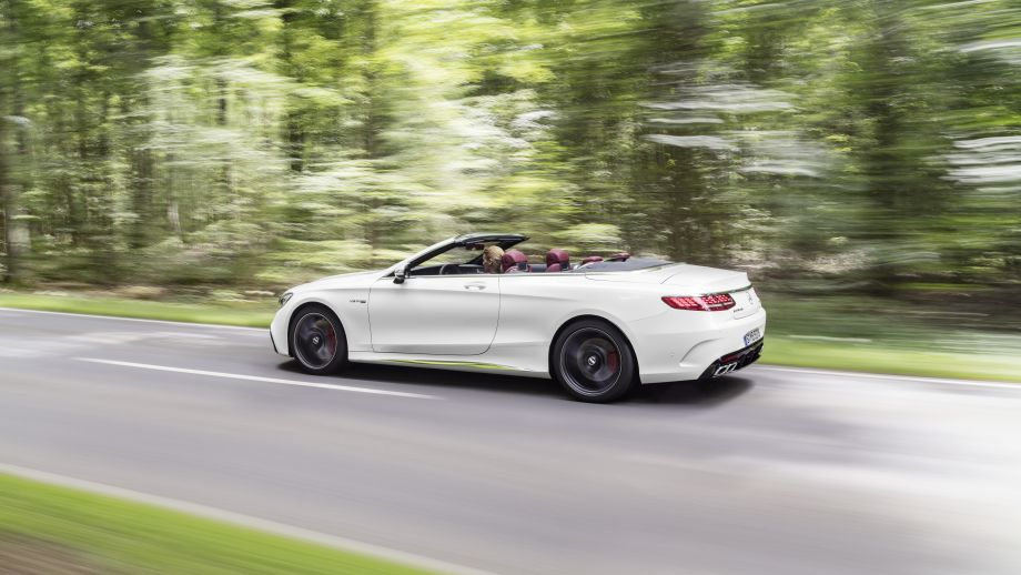 Mercedes-AMG S63 4MATIC Cabriolet weiss