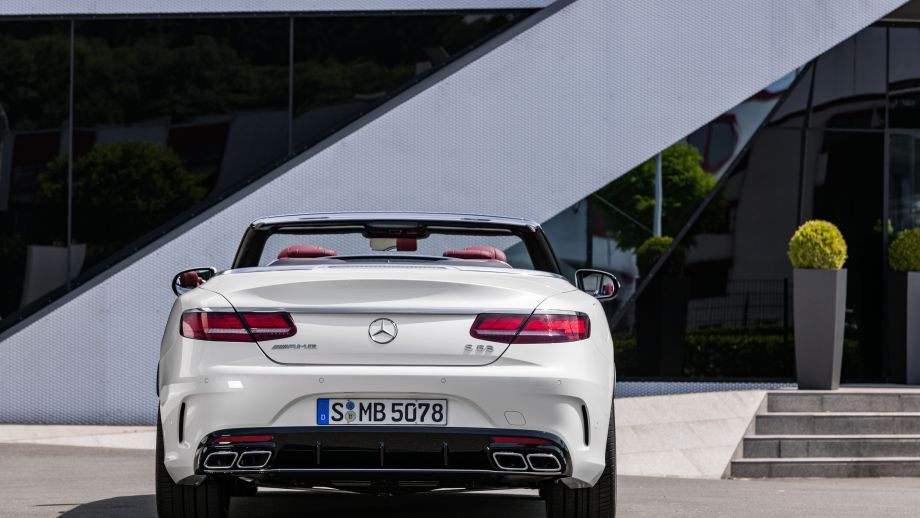 Mercedes-AMG S63 4MATIC Cabriolet Heck