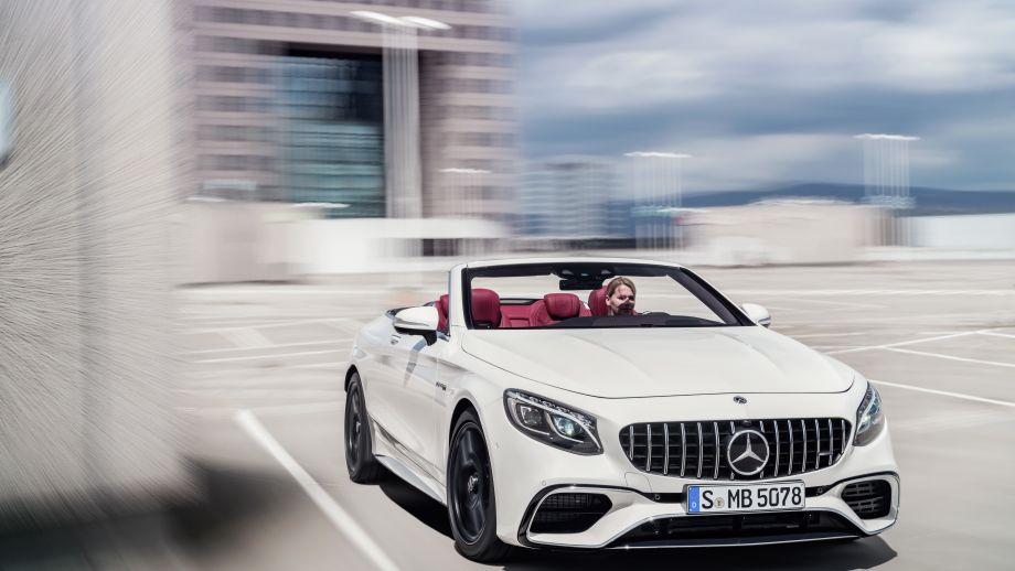 Mercedes-AMG S63 4MATIC Cabriolet Panamericana Grill