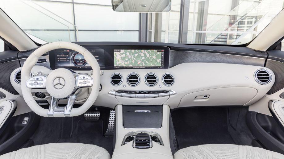 Mercedes-AMG S65 Cabriolet Interieur