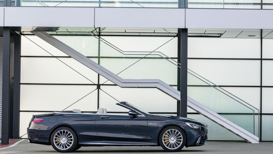 Mercedes-AMG S65 Cabriolet offen