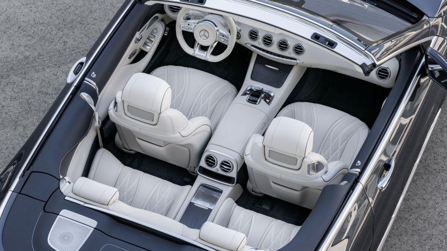 Mercedes-AMG S65 Cabriolet Sitze