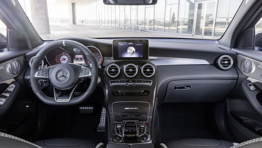 Mercedes-AMG GLC 63 4MATIC Coupé Interieur