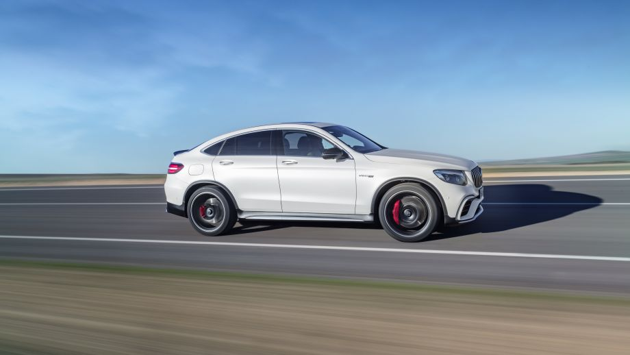 Mercedes-AMG GLC 63 4MATIC Coupé weiss