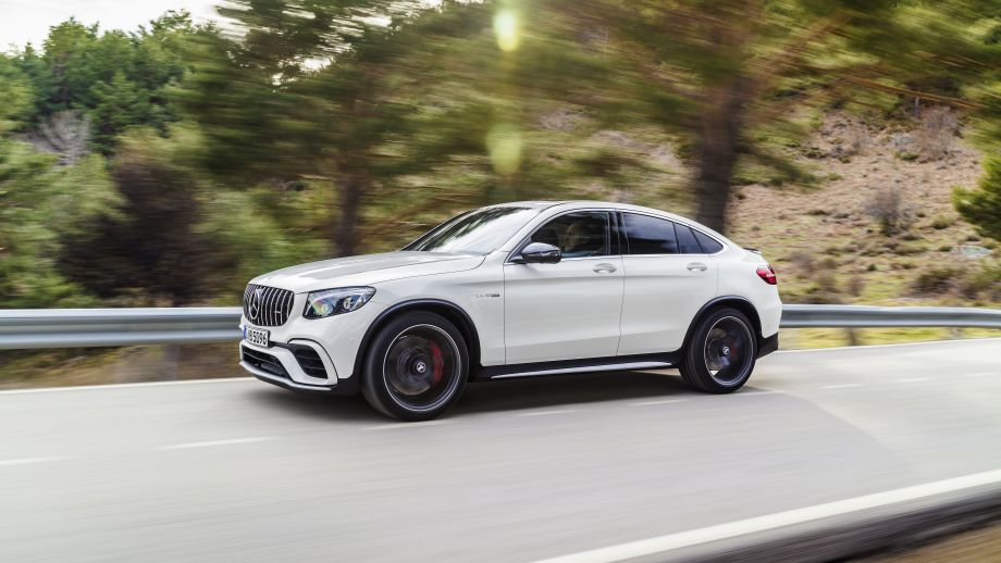 Mercedes-AMG GLC 63 4MATIC+ Coupé weiss