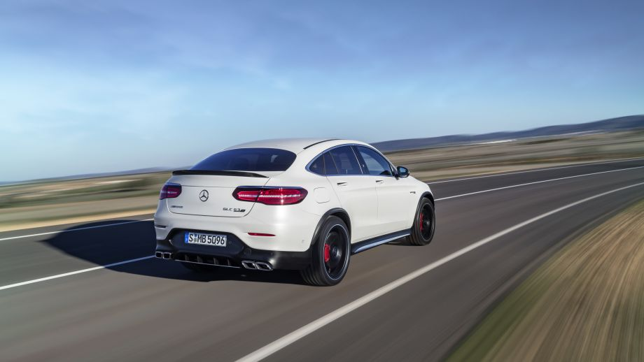Mercedes-AMG GLC 63 4MATIC Coupé Heck