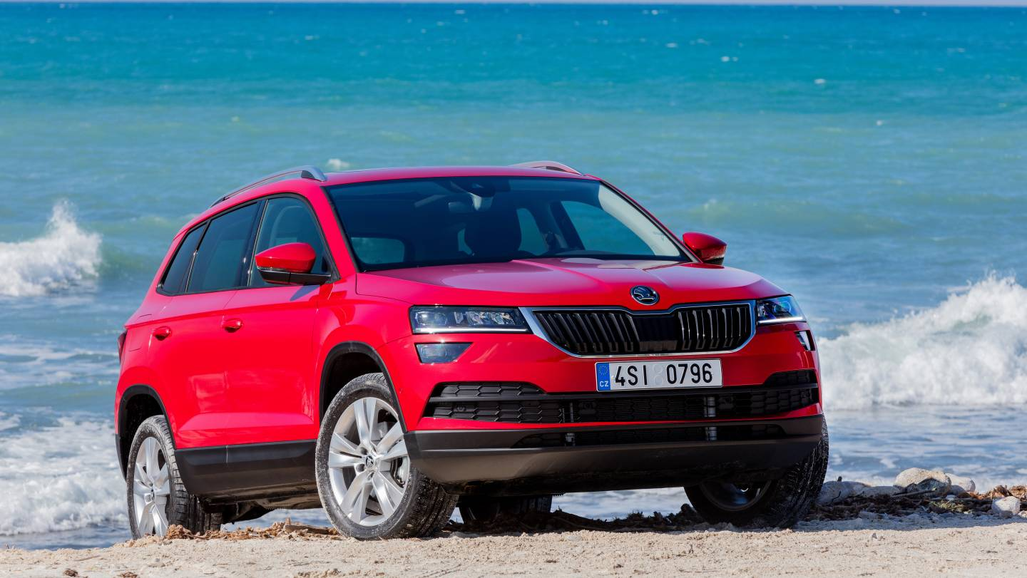 skoda karoq suv. Black Bedroom Furniture Sets. Home Design Ideas