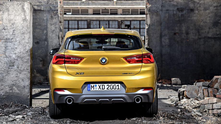 BMW X2 Heckansicht