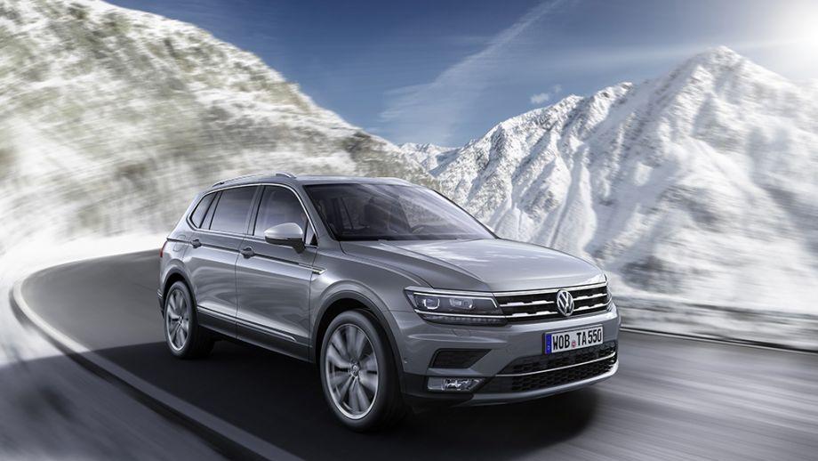 VW Tiguan Allspace Front
