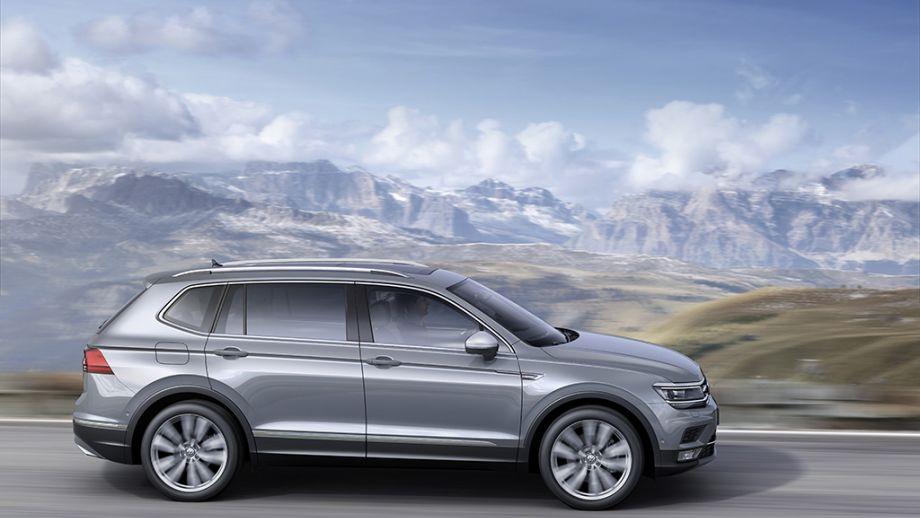 VW Tiguan Allspace Seitenansicht