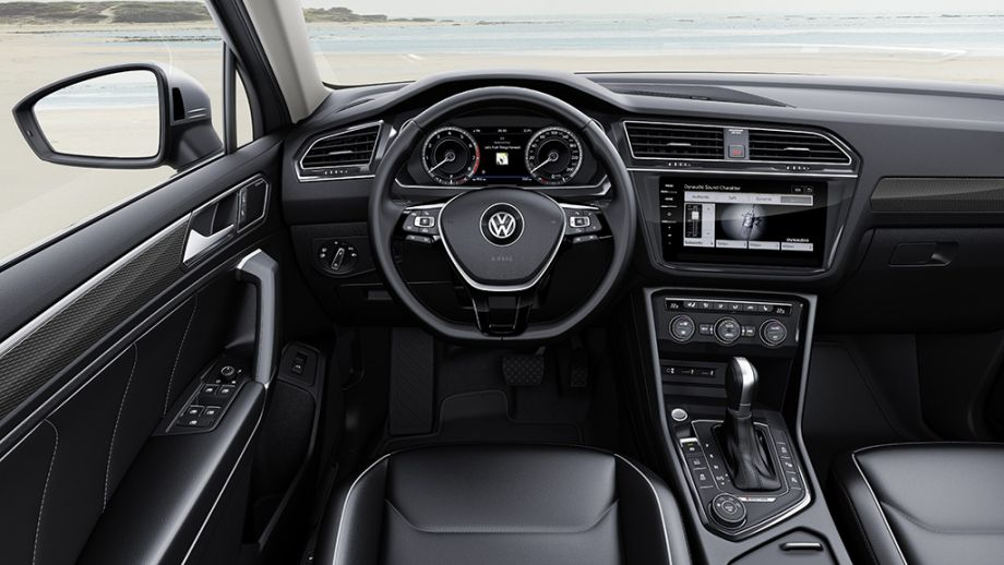 VW Tiguan Allspace Interieur