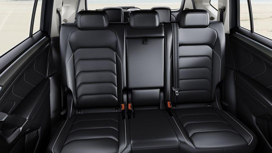 VW Tiguan Allspace Rückbank