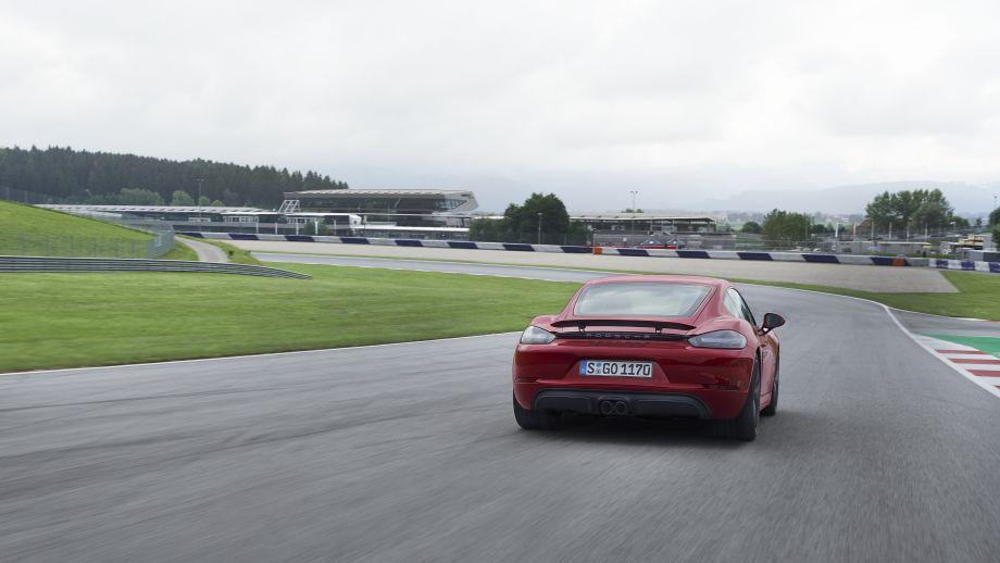 Porsche 718 Cayman GTS Heckspoiler