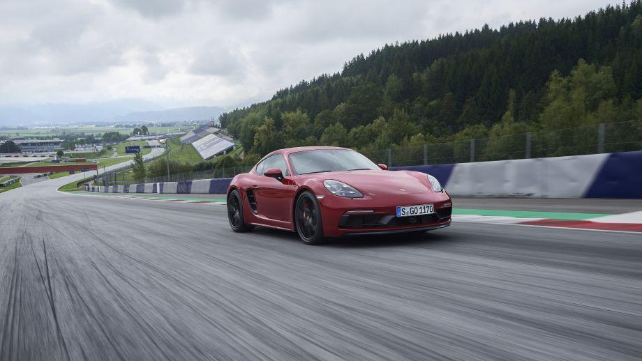 Porsche 718 Cayman GTS Front