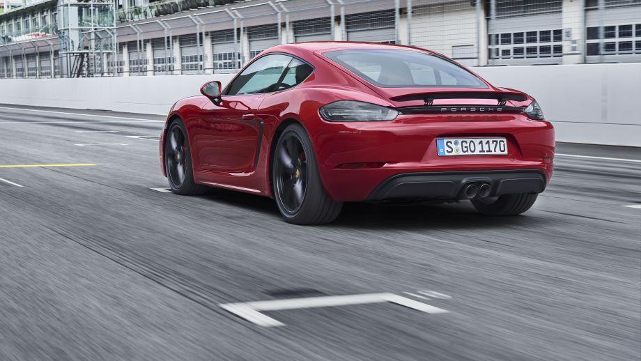 Porsche Cayman GTS Heck
