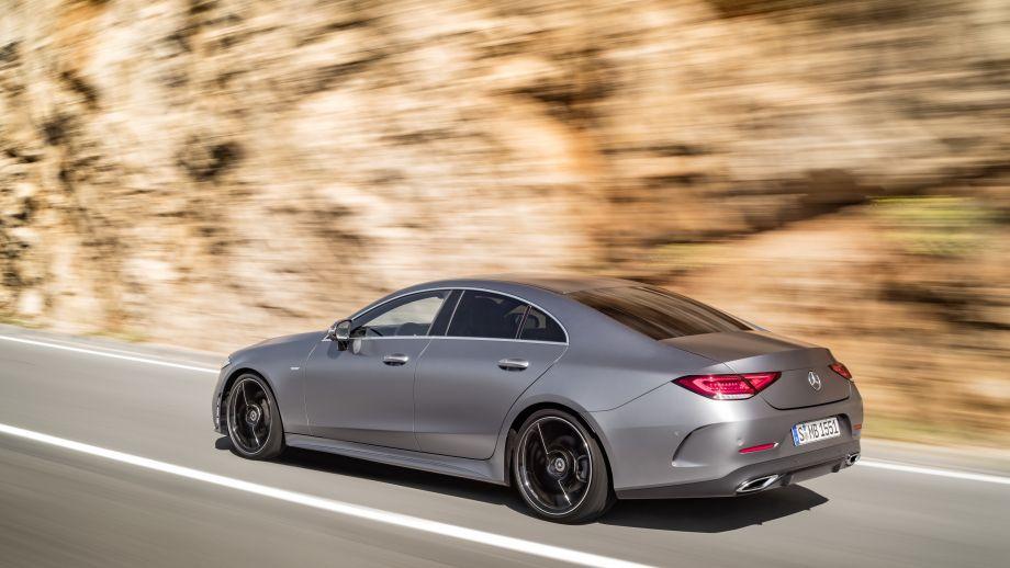 Mercedes-Benz CLS Heck schräg