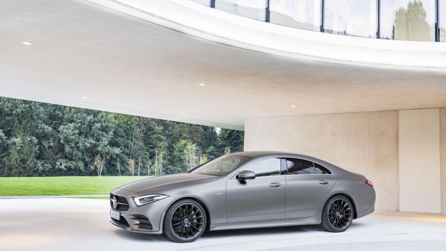 Mercedes-Benz CLS Seitenlinie