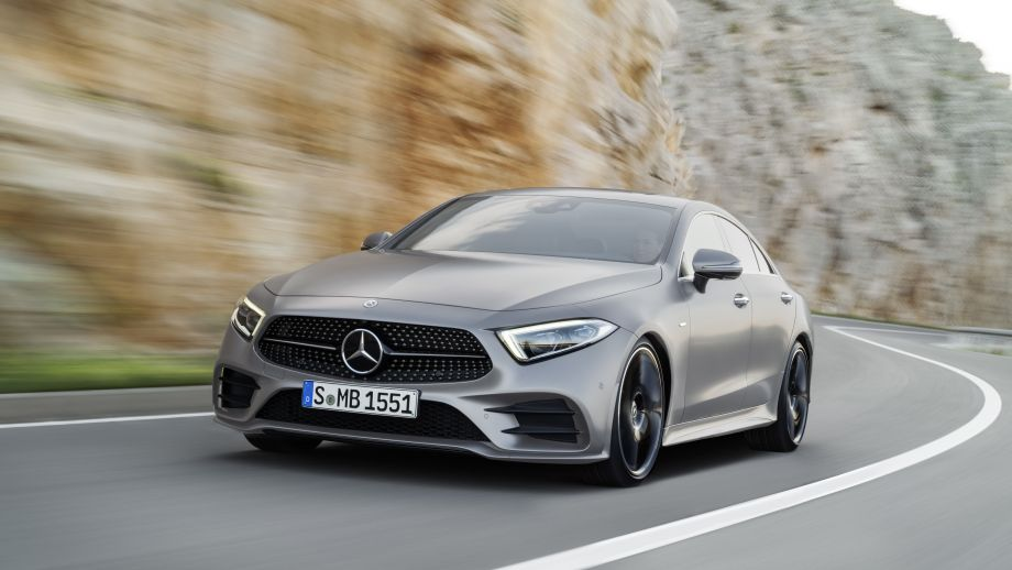 Mercedes-Benz CLS Front