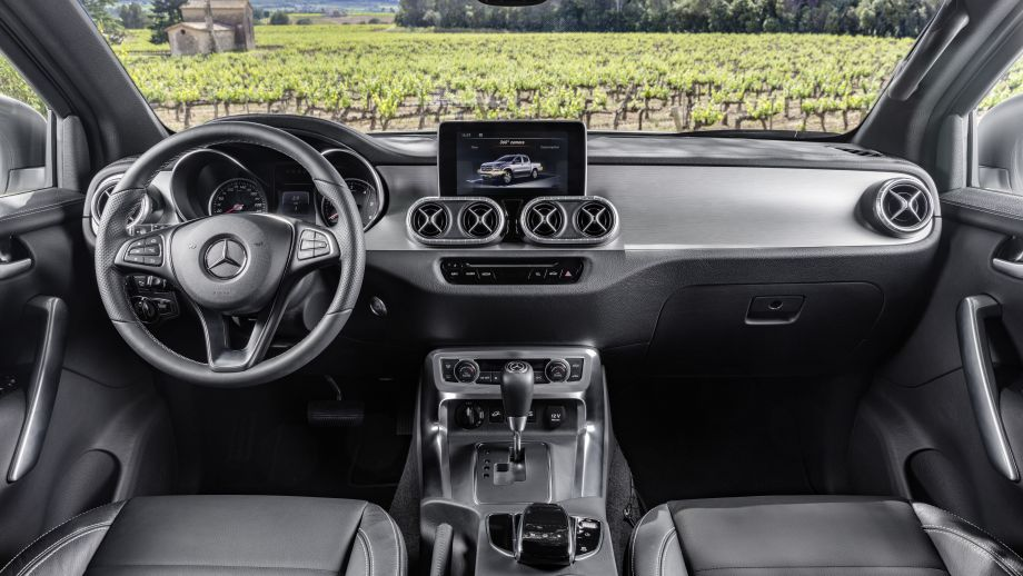 Mercedes-Benz X-Klasse Interieur