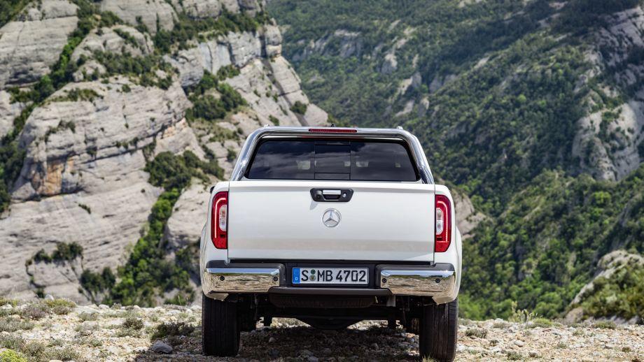 Mercedes-Benz X-Klasse Heck