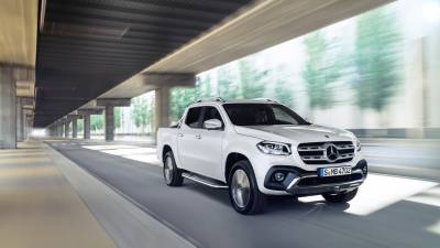 MERCEDES-BENZ X-Klasse<br/>Pickup