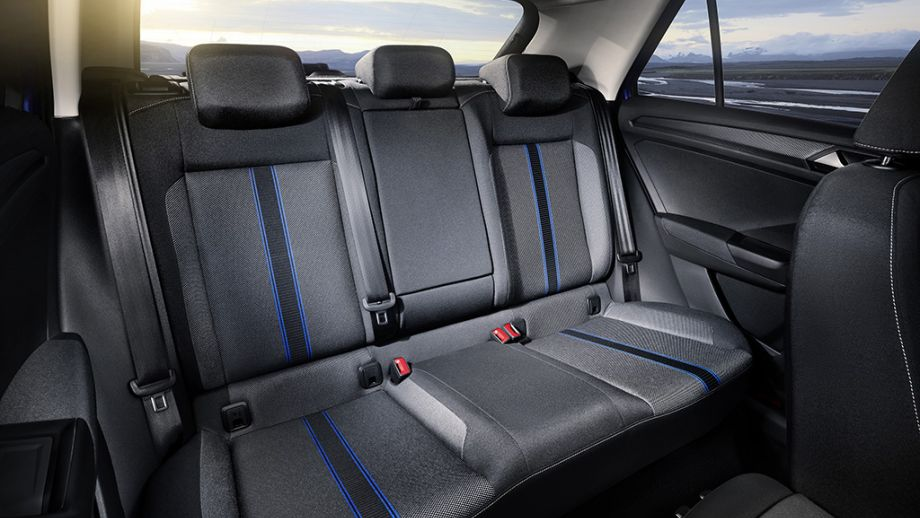 VW T-Roc SUV Rückbank