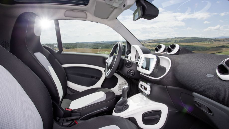 Smart Fortwo Weiss Interieur