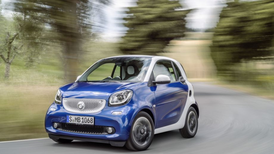 Smart Fortwo Weiss Midnightblue front