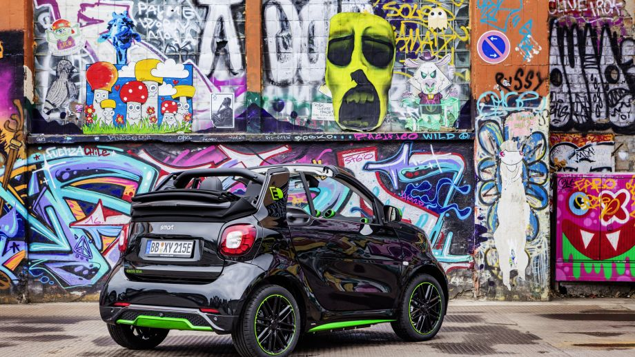 Smart Fortwo Cabrio Electric Drive Heck