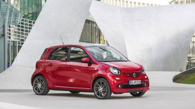 smart  Forfour<br/>Brabus